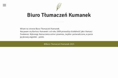 Biuro Tłumaczeń Kumanek - Tłumacze Libiąż