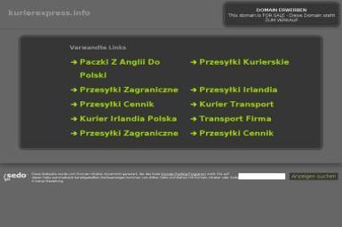 Kurier Express - Przeprowadzki Domaszowice