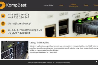 Informatyczna Obsługa i Kursy Rafał Wasyluk. Serwis komputerowy, Sklep komputerowy - Szkolenia Nowogard
