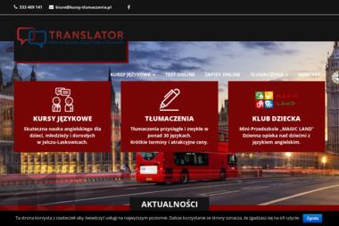 Centrum Języków Obcych i Biuro Tłumaczeń Translator. Ewa Adamowska - Nauka Języka Jelcz-Laskowice