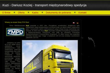 Firma Wielobranżowa Kuzi Dariusz Koziej - Transport busem Włodawa
