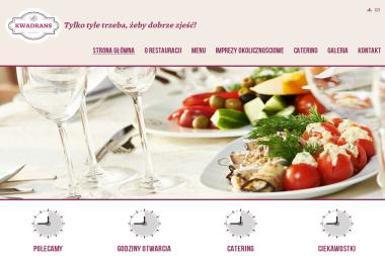 Kwadrans Lokal Gastronomiczny - Posiłki, Catering - Gastronomia Tomaszów Mazowiecki