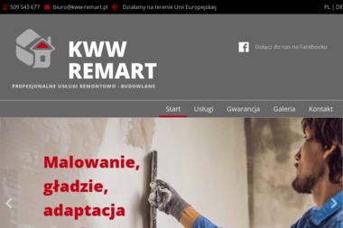 KWW-REMART - Remonty mieszka艅 K臋pno