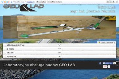 GEO LAB Joanna Mączka. Laboratorium geotechniczne - Geodeta Nowa Sól