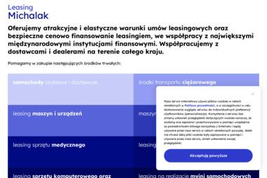 Pośrednictwo Finansowe Żaneta Michalak - Leasing Samochodu Piotrków Trybunalski