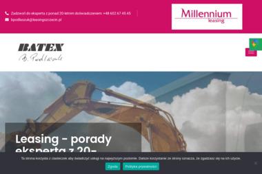 BATEX Barbara Podlaszuk, Agencja Millennium Leasing Sp. Z o.o. Maszyny, urządzenia, środki - Leasing Samochodowy Szczecin
