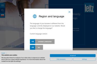 Punkt serwisowy Leitz-Polska producent narzędzi do drewna centra - frezy, piły tarczowe, wiertła - Tokarz Korczów