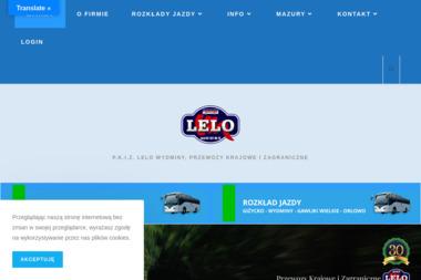 Przewozy Krajowe i Zagraniczne Lelo Antoni Lelo - Firmy Mazuchówka