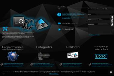 Leon-Art. Projektowanie stron internetowych, tworzenie www, tworzenie logotypów - Ulotki A6 Głogów