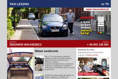 Usługi Transportowe Zbigniew Małkiewicz - Firma transportowa Leszno