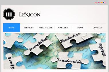 Ewa Kopta González Lexicon Centrum Językowe i Tłumaczenia - Biuro Tłumaczeń Mogilany