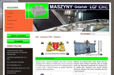 LGF CNC Maszyny Sławomir Stasiak - Tokarstwo Gdańsk