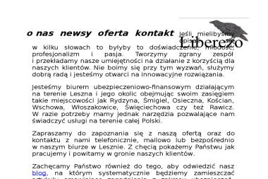 Liberezo Piotr Kruk - Kredyt hipoteczny Leszno