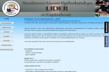 """Policealna Szkoła Detektywów i Pracownikow Ochrony """"LIDER"""" - Firma Detektywistyczna Częstochowa"""