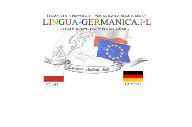Lingua Germanica. Biuro tłumaczeń, języki: niemiecki, angielski, francuski, włoski, hiszpański, - Tłumacz Języka Angielskiego Suwałki