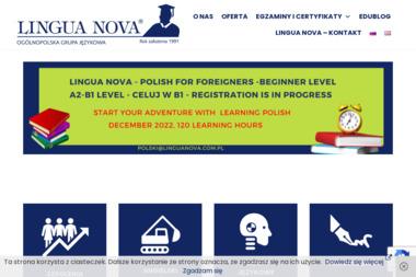 Lingua Nova. Szkoła Języków Obcych i Agencja Tłumaczeń - Nauczyciele angielskiego Kalisz