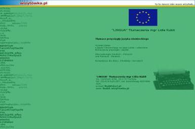 Lingua Lidia Kubit - Tłumacze Tuchów