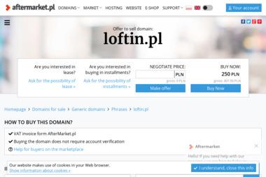 Loft In - Nowoczesne Pośrednictwo Nieruchomości - Sesje zdjęciowe Rzeszów