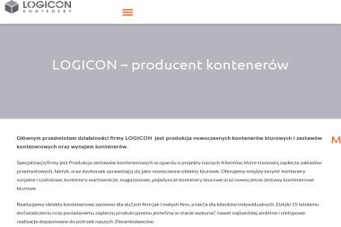 Logicon kontenery - Firma transportowa Sopot