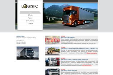 Logistic 2000 Marcin Korba - Transport ciężarowy krajowy Puławy