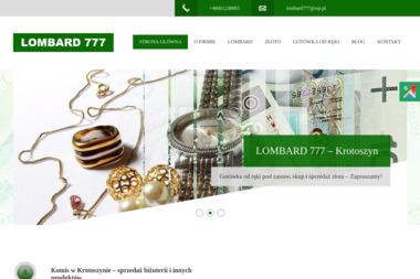Lombard 777 Daniel Rozum - Kredyt hipoteczny Krotoszyn