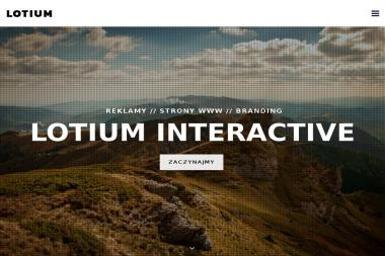 Lotium Interactive Tomasz Kosiński - Pozycjonowanie stron Darłowo
