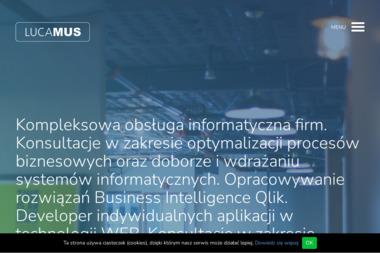 FUH Lucamus Łukasz Musiał. Usługi informatyczne, naprawa komputerów - Projektowanie Stron Internetowych Ostrowiec Świętokrzyski