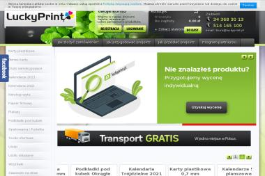 LuckyPrint. Drukarnia internetowa, drukarnia online - Ulotki Częstochowa