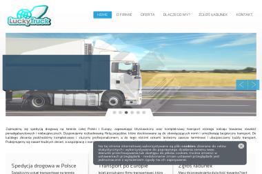Lucky Truck Transport i Spedycja K.Smarz i A.Smarz Sp.j. Usługi transportowe, usługi spedycyjne - Transport międzynarodowy Wojcieszków