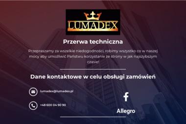 Przedsiębiorstwo Produkcyjno Handlowo Usługowe Lumadex Lucjan Madej - Szklarz Piotrków Trybunalski