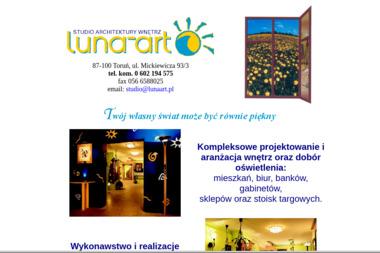 Studio Architektury Wnętrz LUNA-ART M. Jankowska-Jarmuż - Projekty Domów Parterowych Toruń