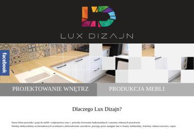 Lux Dizajn. Projektowanie wnętrz, meble - Kuchnie Na Wymiar Kalisz