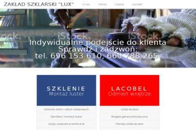 Lux Zakład Szklarski i Oprawa Obrazów - Szklarz Szczecin