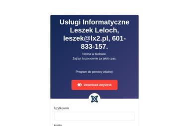 Usługi Informatyczne Leszek Leloch - Marketing Online Toszek