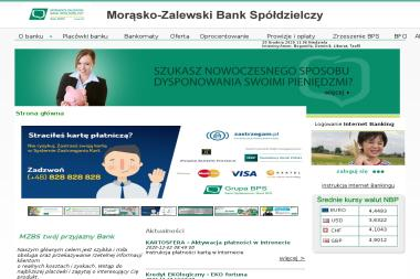 Morąsko Zalewski Bank Spółdzielczy w Zalewie - Kredyt Morąg