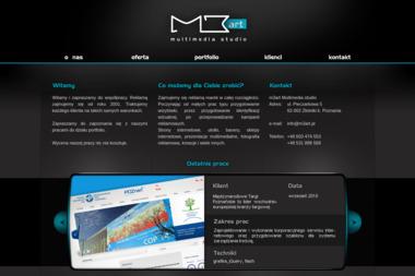 M3art Multimedia - Ulotki z Perforacją Suchy Las