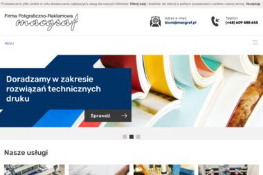 Macgraf. Firma Poligraficzno-Reklamowa S.C. - Wizytówki na Zamówienie Katowice