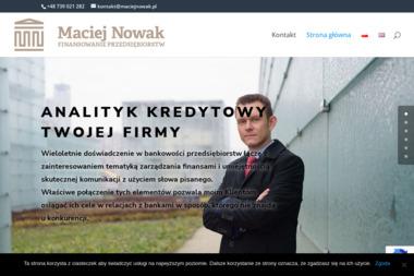 Maciej Nowak Finansowanie Przedsiębiorstw - Kredyty Na Rozwój Działalności Chorzów