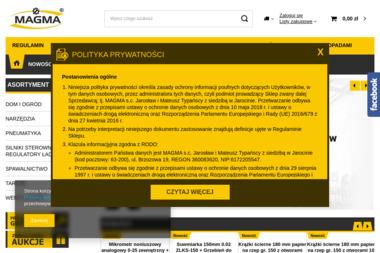 MAGMA Centrum dystrybucji narzędzi i silników Jarocin - Spawacz Jarocin