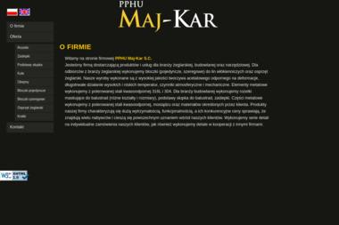 PPHU MajKar s.c. Zaślepki, rozetki, wyposażenie balustrad - Ślusarz Franciszków