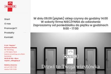 F.U.H. Majster Józef Kamiński - Drzwi Elbląg