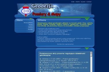 Biuro Geodezyjne Kazimierz Sasin. Geodezja, geodeta - Firma Geodezyjna Żary