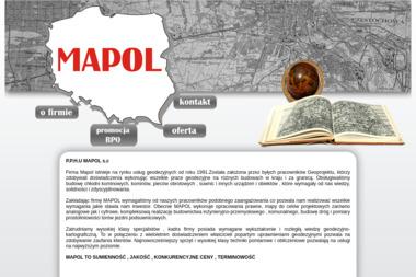 PPHU Mapol s.c. Usługi geodezyjne - Geodeta Częstochowa