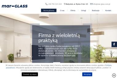 Mar-Glass Grzegorz Marciniak - Tynkowanie Maszynowe Białystok