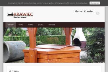 Stolarstwo Usługowo-Produkcyjno-Handlowe Marian Krawiec. Schody drewniane, drzwi - Schody drewniane Popielów
