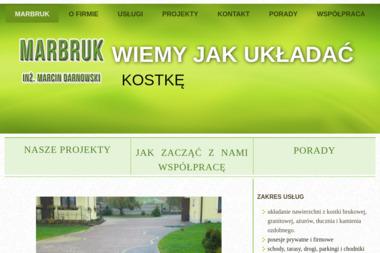 Marbruk Marcin Darnowski - Układanie kostki brukowej Biała Rawska