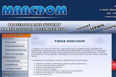 MARCDOM - Alarmy Wyszków