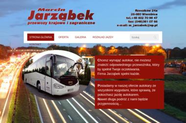 Marcin Jarząbek Usługi Transportowe - Przewozy Rzeczków