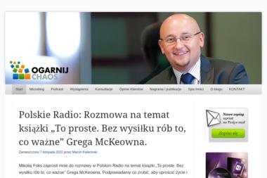 Marcin Kwieciński. Dietetyk - Dietetyk Jelenia Góra