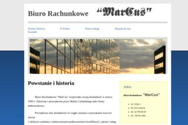 Biuro Rachnkowe Marcus - Biuro Rachunkowe Leoncin